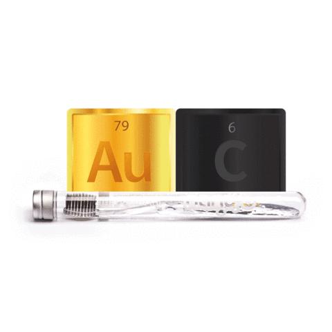 Четка за зъби Nano-b Gold с нано златни частици